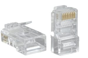 Пример коннектора, разъем rj-45