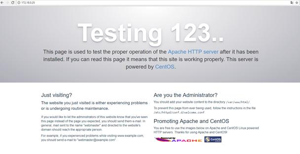Установка и настройка Web-Server в CentOS 7
